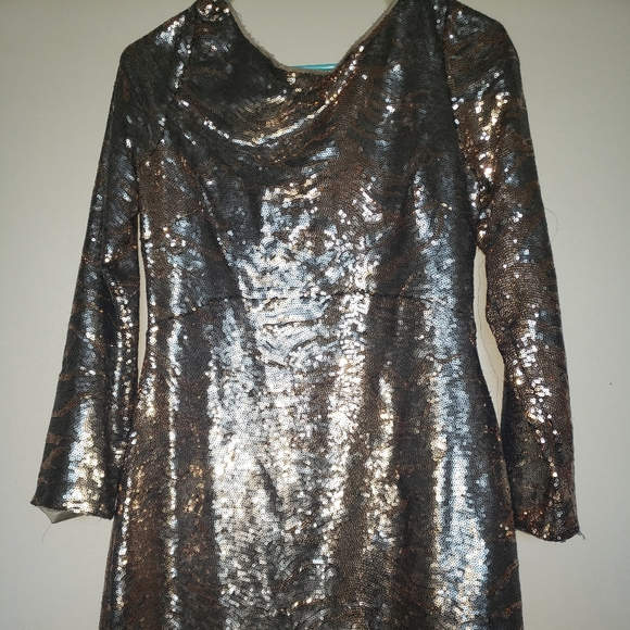 Jessica Simpson cocktail sequin dress size 8